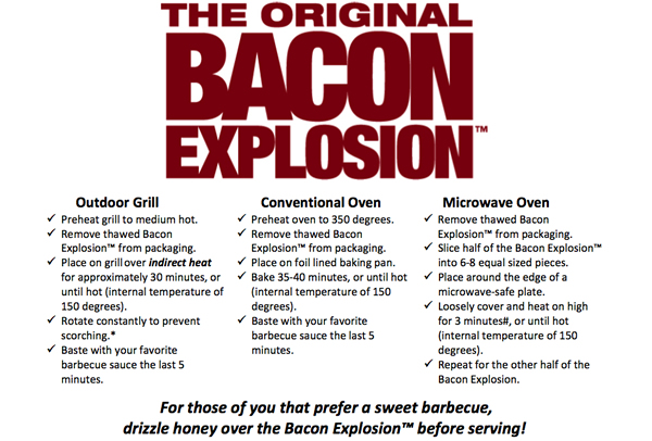 The Original Bacon Explosion BBQ