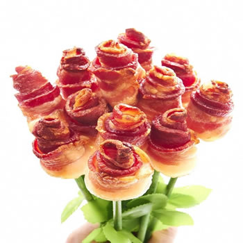 Bacon Roses Bouquet